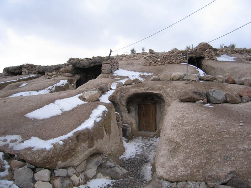 Meymand , A 12000 years old cave village of Iran