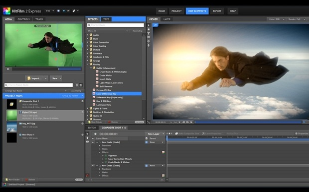 Aplikasi Edit Video PC HitFilm Express