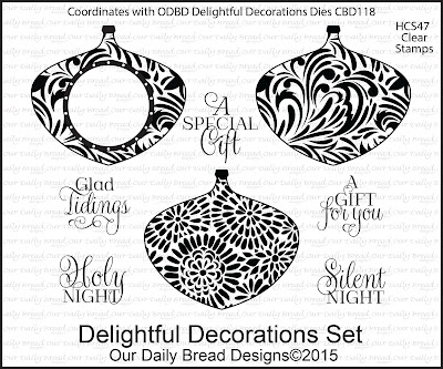 Our Daily Bread Designs Stamp set - Delightful Decorations