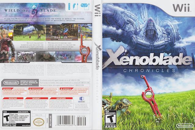 Capa Xenoblade Chronicles Wii