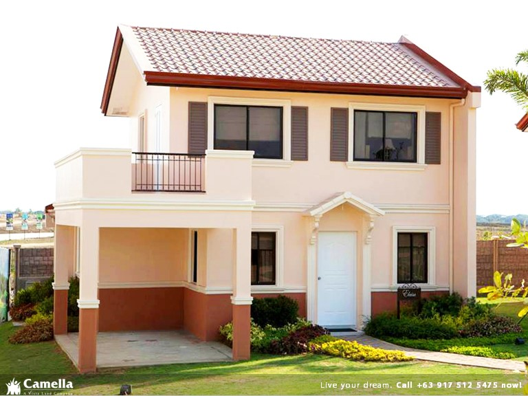 Elaisa - Camella Carson| Camella Affordable House for Sale in Daang Hari Bacoor Cavite