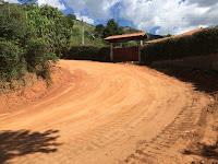 Trecho recuperado da Estrada do Engano: escoamento da produção rural garantido