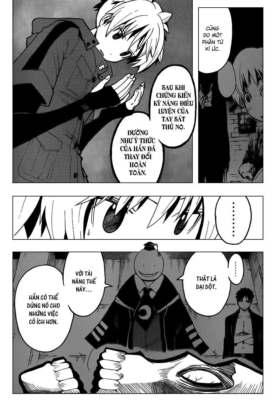 Ansatsu Kyoushitsu chap 110 trang 5
