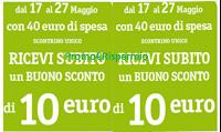 Logo Famila : ricevi subito un buono sconto da 10€