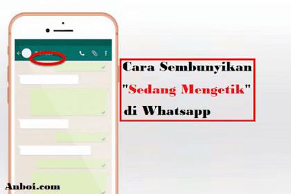 Cara Mudah Sembunyikan Status Sedang Mengetik di Whatsapp