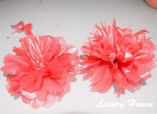 mothers day diy plastic flowers