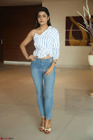 Avantika Mishra in One Shoulder Crop Top and Denim Jeggings ~  Exclusive 026.JPG