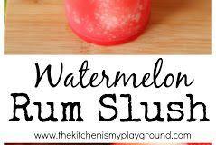 WATERMELON RUM SLUSH
