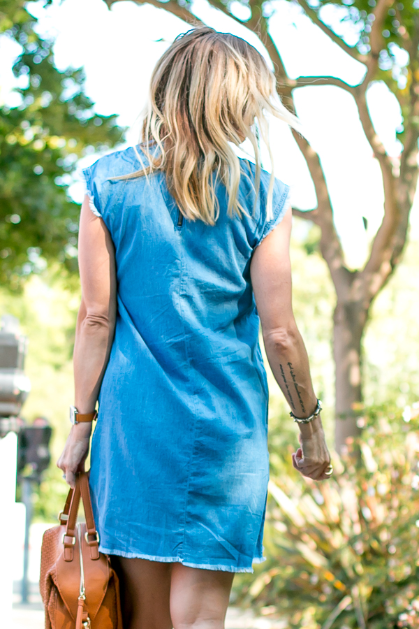denim summer dress style