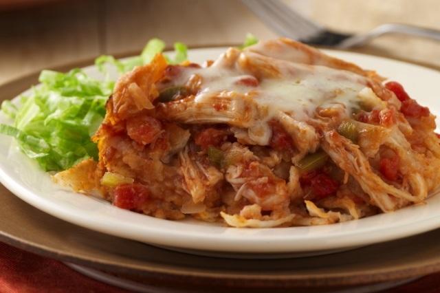 Enchiladas de Pollo en Olla de Cocción Lenta