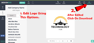 create free professional logo