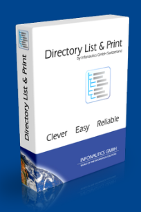 Directory List & Print 2017 v3.32 Free Download