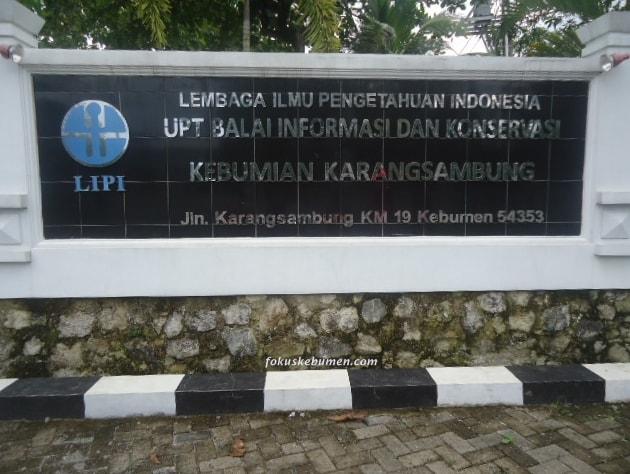 Wisata Edukasi LIPI Karangsambung