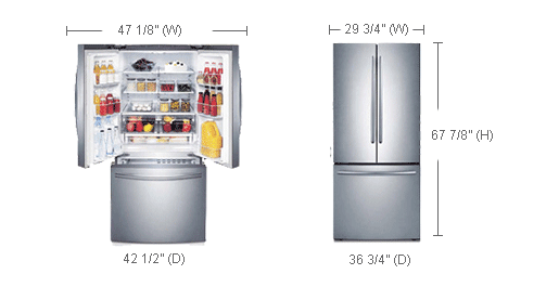 Here You Can Find And Buy Samsung Refrigerator Rf220nctasr