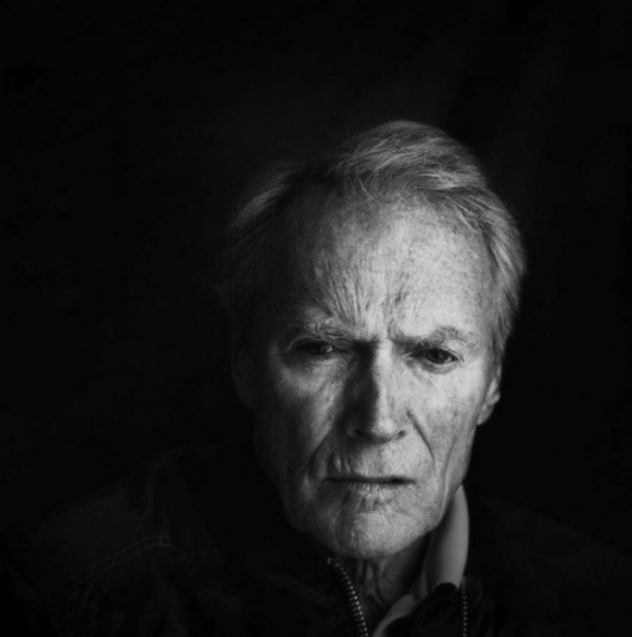 Damon Winter, retrato de Clint Eastwood