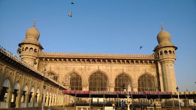 Mecca Masjid in Hyderabad