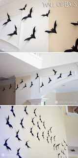 halloween construction paper bats