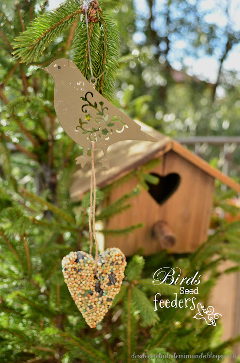 birds seed feeders home made