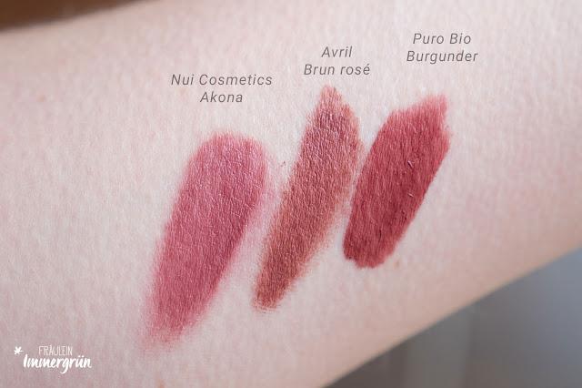 Nui Cosmetics Natural Lipstick Akona