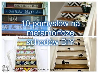 Malowane schody - super sposób na efekt WOW we wnętrzu!
