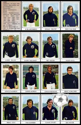Ajax Voetbalsterren 1971/72