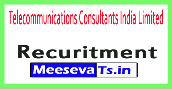 Telecommunications Consultants India Limited TCIL Recruitment Notification 2017
