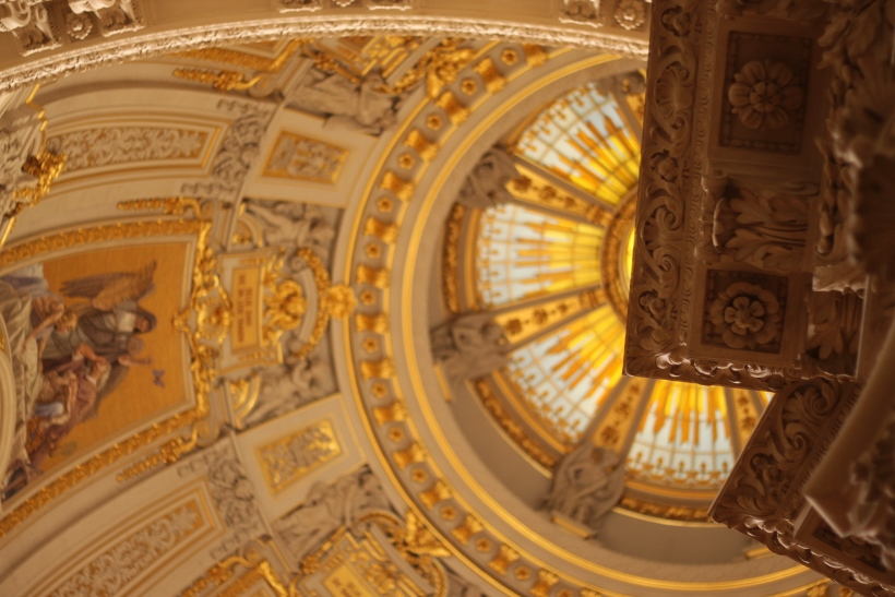 berlin cathedral roof