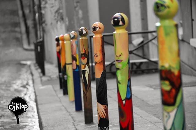 Le Cyklop - Olivier D'Hondt - street art