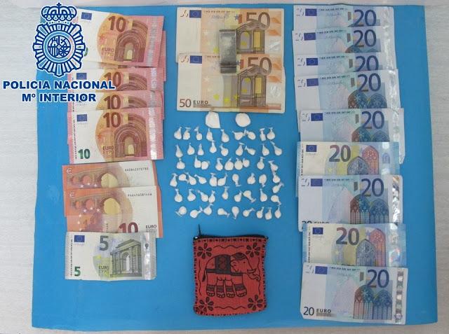 Policía Nacional detiene traficante droga San Bartolomé, Gran Canaria
