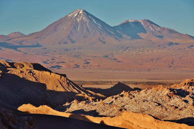 Vale da Lua, no Deserto do Atacama