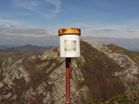 Buzón de cima del Pico Cervera
