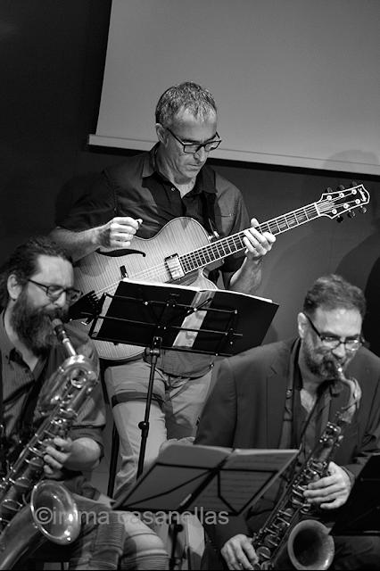 Leo Tejedor amb Iván Sáez i Enric Alegre, Auditori Vinseum, Vilafranca del Penedès, 9 de juny de 2018