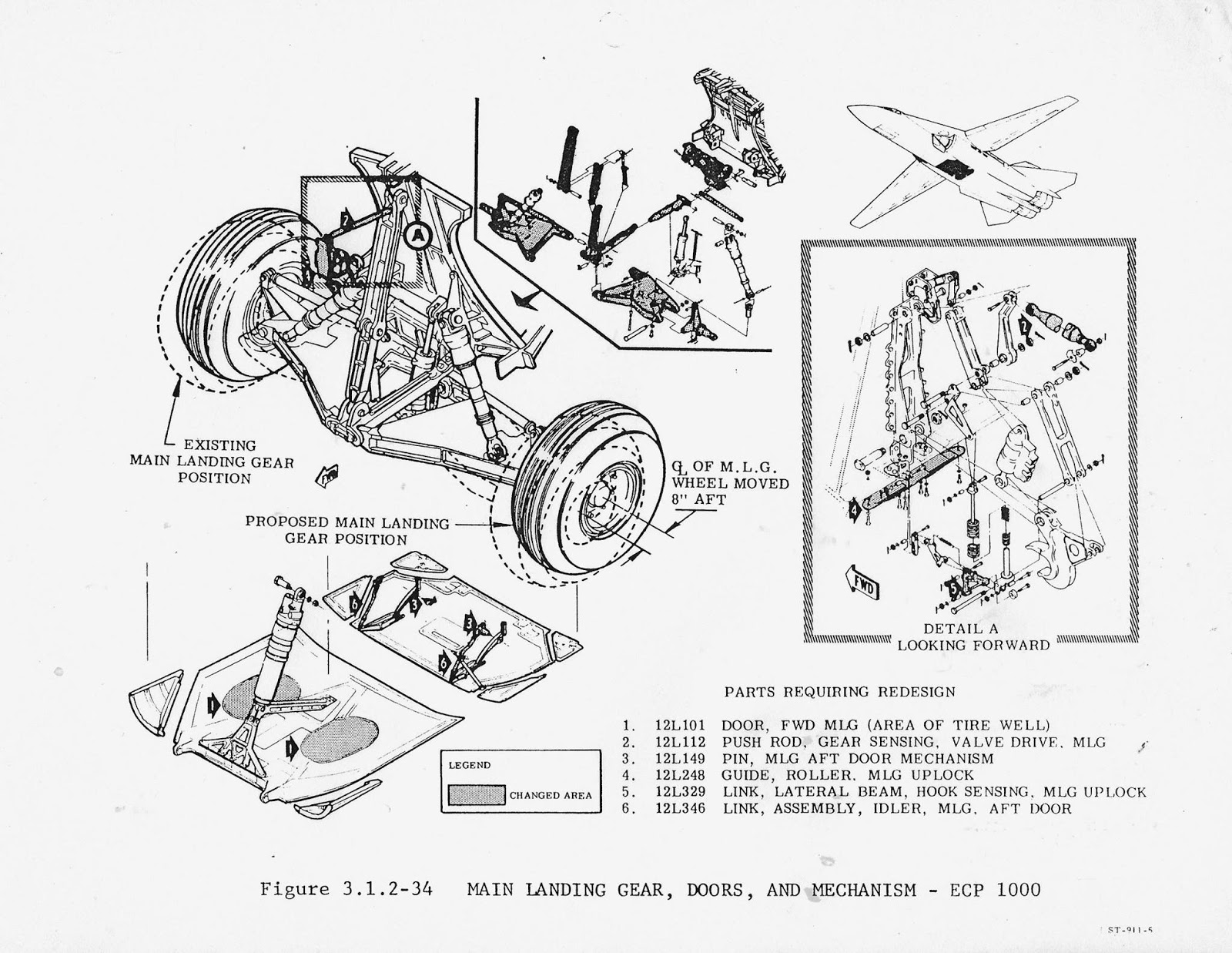 Tailhook Topics: The F-111B Production Main Landing Gear