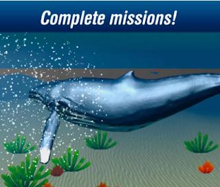 Ocean Whale Simulator 3D