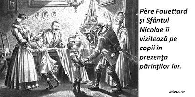 Père Fouettard, tovarăşul Sfântului Nicolae în Franţa