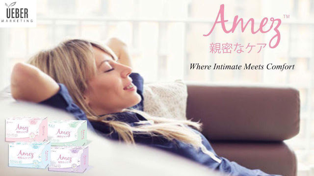FEEL COMFORTABLE, SMELL GREAT WITH AMEZ CARE