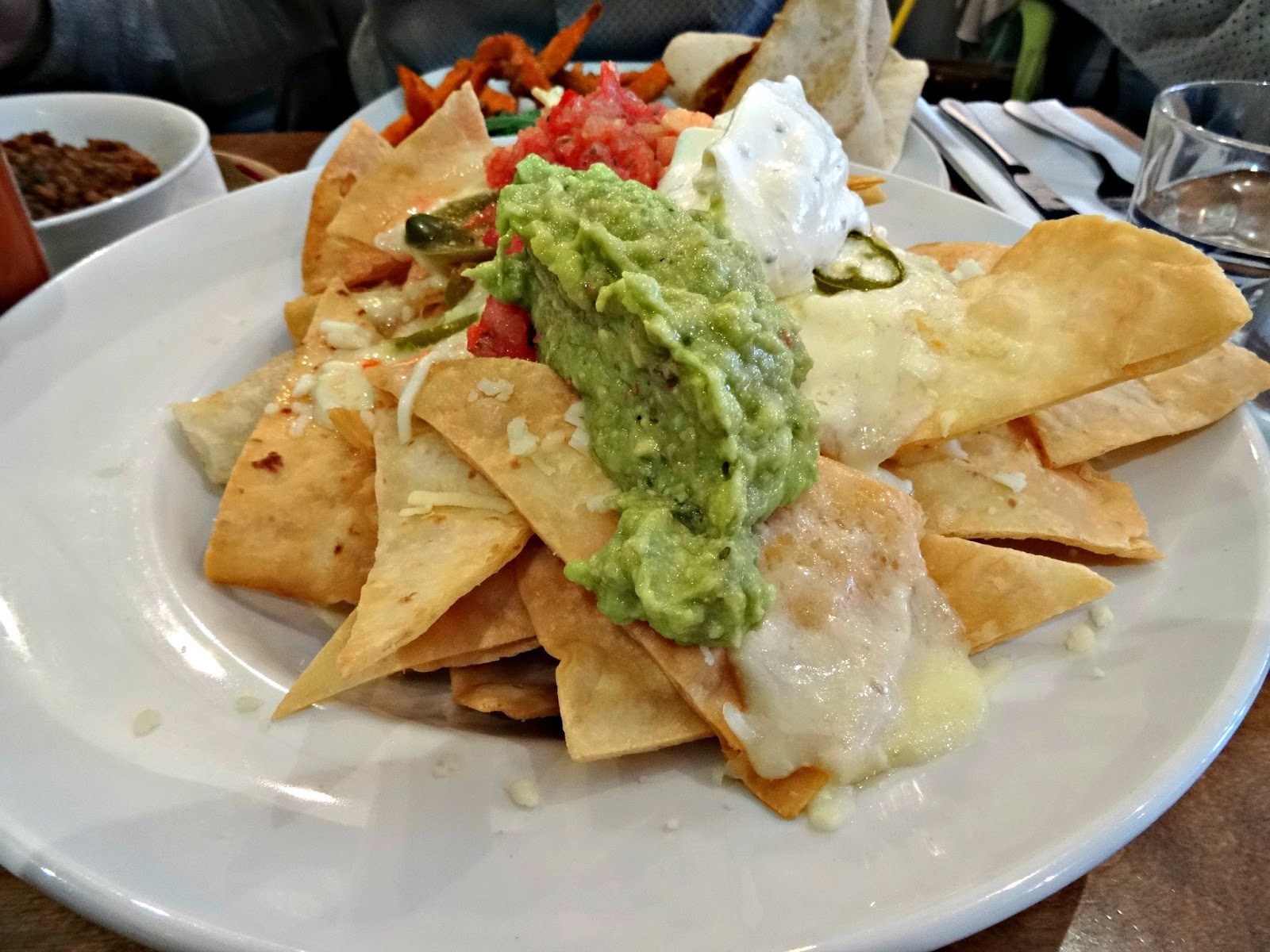 nachos served at bodega birmingham