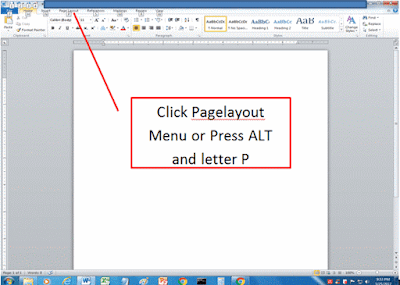 Page Setup Document