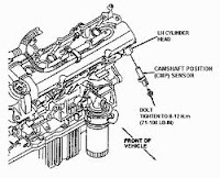 toyota car service: Camshaft timing oil control assembly