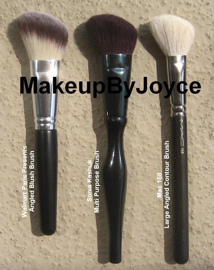 Mac 168 Large Angled Contour Brush: MakeupByJoyce ** !: Review: Walmart Paris Presents High