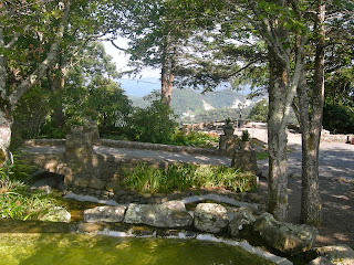 Pretty Gardens at Blowing Rock North Carolina
