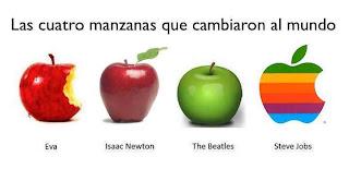 Resultado de imagen para las cuatro manzanas que cambiaron el mundo