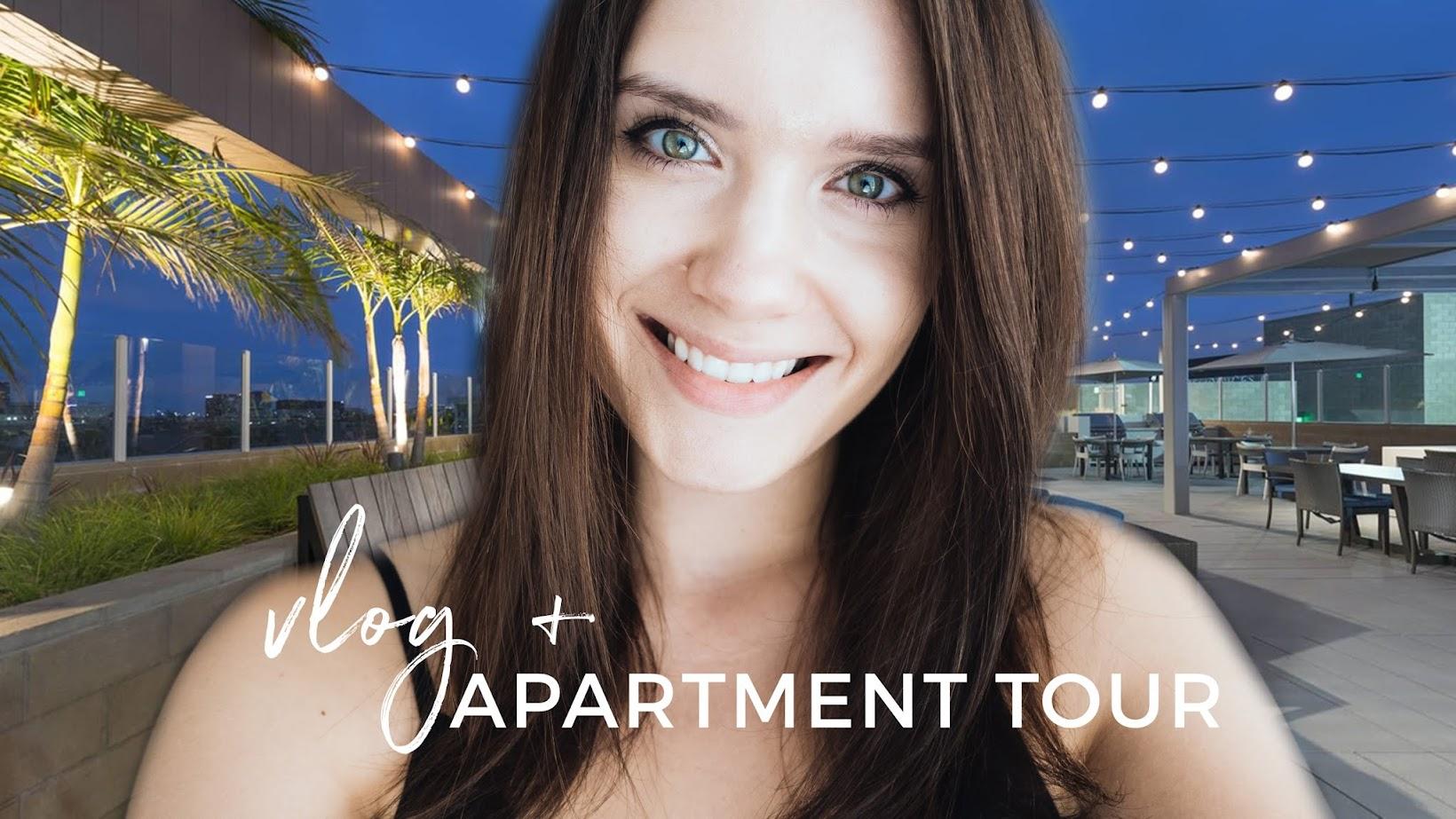 Vlog + Apartment Tour   Przeprowadzamy się do Los Angeles!