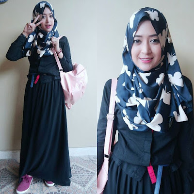 Trend Baju Jaman Sekarang Wanita Hijab
