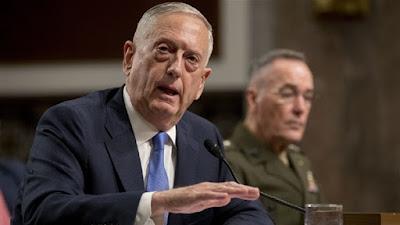 وزير الدفاع الأمريكى جيم ماتيس