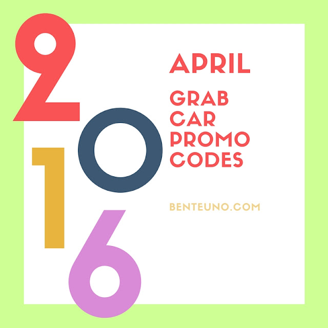 GrabCar Promo codes for April 2016