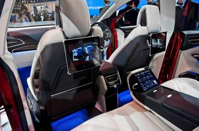 2018 Ford Edge Sport Interior