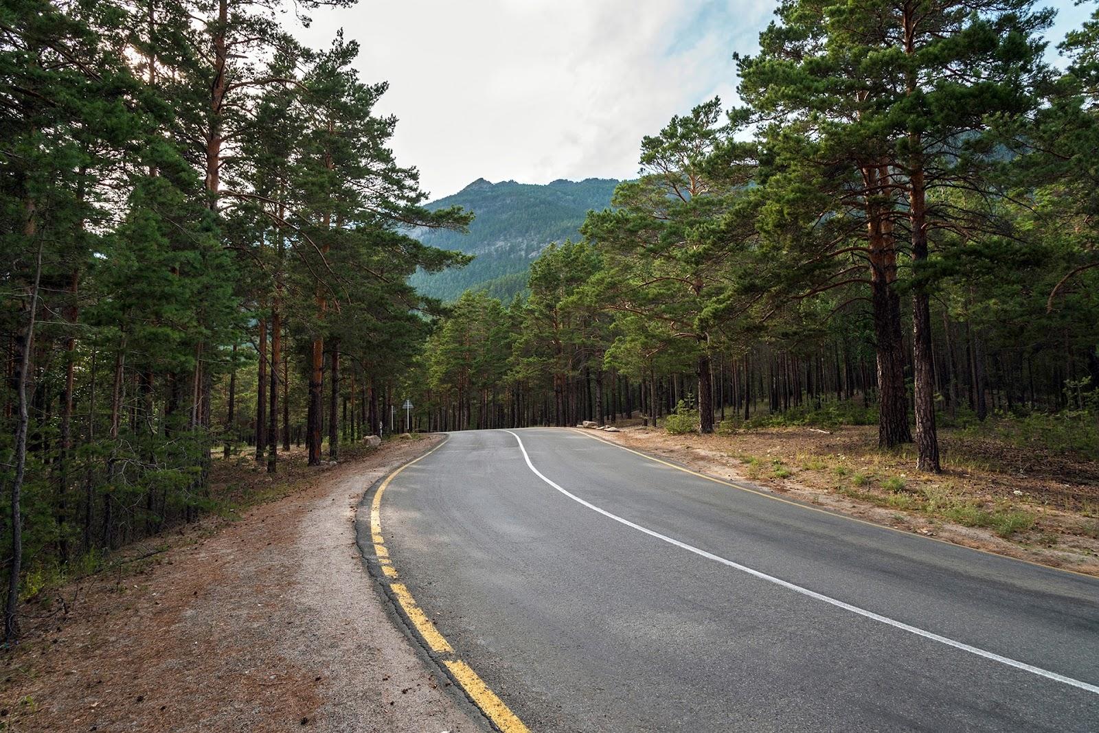 Дорога на Боровое