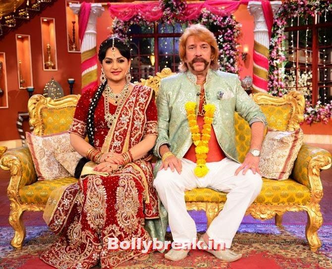 Upasana Singh and Razzak Khan, Bua gets married on Comedy Nights with Kapil