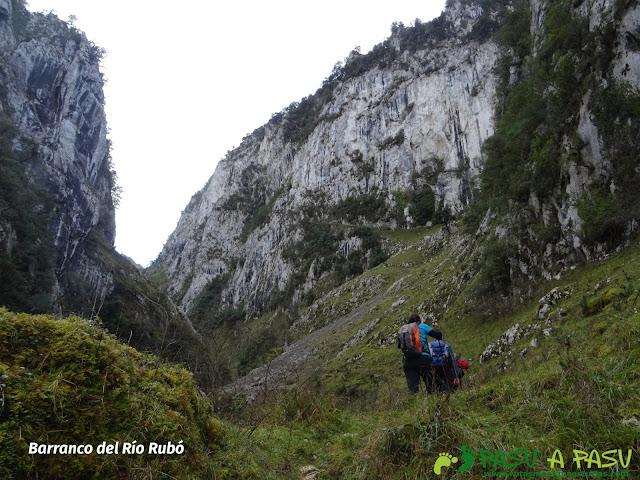 Garganta del Río Rubó, zona baja
